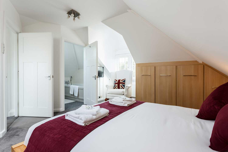 Main House Top Floor Bedroom